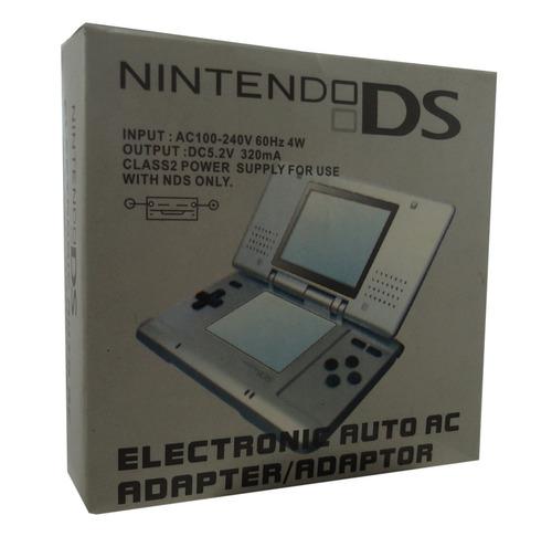 Fnds- Carregador Bivolt P/ Nintendo Ds Nds - Novo E Na Caixa
