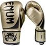 Luva Boxe Venum Challenger Unissex Tamanho 12oz Dourada