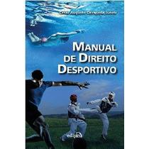 Manual De Direito Desportivo Edipro Cesar Augusto 1ªed 2014