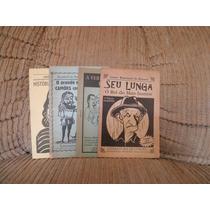 Livro Literatura De Cordel - 4 Livretos - Preço Do Lote