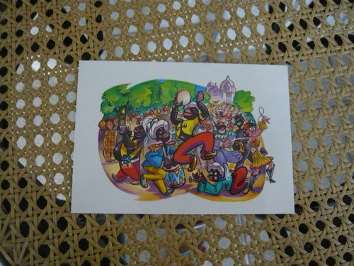Folklore In Caricature Brazil 12 Color Postcards Folclore