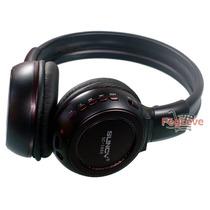 Sc-1669 Fone Ouvido Headset Sem Fio Cartão Micro E Sd Mp3 Fm