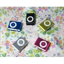 Mp3 Player Clip Metal Slim Shuffle Memoria Até 8gb