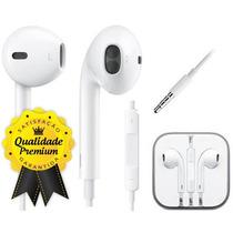 Fone De Ouvido Iphone 5 Earpods Apple Ipad Ipod Mp3 P2