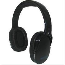 Fone De Ouvido Sem Fio Mp3 C/ Rádio Fm Recarregável Preto