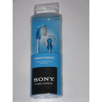 Fone De Ouvido Estereo Sony Mdr-e9lp Auricular Ipod, Mp Azul