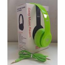 Lote 6 Fones De Ouvido Headphone Tipo Beats Mex Atacado