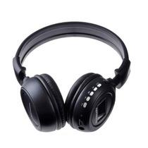 Fone De Ouvido Headphone Sem Fio Mp3 Fm Cartão Memór Sd Card