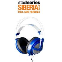 Fone Steelseries Siberia V2 Full-size * Blue * Original
