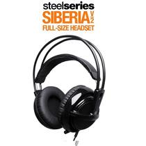 Fone Steelseries Siberia V2 Full-size * Black * Original