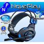 Fone De Ouvido Headset Gamer Mazer Type-x Usb P2 E-blue Top!