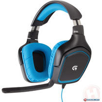 Logitech Headset Game G430 Usb Top De Linha !!! Fone Gamer