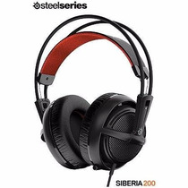 Headset Gamer Siberia 200 Gaming Preto -pronta Entrega*