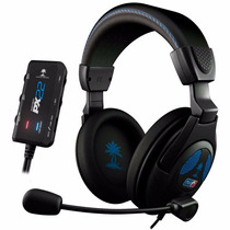 Headset C/ Fio Turtle Beach Px22 - Ps3, Ps4, X360, Pc E Mac