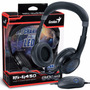 Headset Gx Gaming Genius Hs-g450 Gamer 7.1 Canais