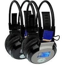 Fone De Ouvido Headphone Mj-168 Com Radio Fm, E Mp3