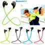 Fone Ouvido Bluetooth Qcy Sem Fio Esportivo Samsung Iphone