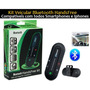 Kit Veicular Bluetooth Handsfree Multispeaker