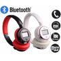 Fone Ouvido Headphone Sem Fio Bluetooth Mp3 Player Microsd
