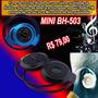 Fone Ouvido Bluetooth Mini Bh-503 Mp3 Via Micro Sd Rádio Fm