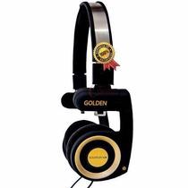 Fone De Ouvido Profissional Monitor Porta Pro Golden - Loja