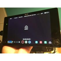 Gravador Monitor Atomos Shogun 4k Com Case Sony A7s