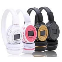 Fone De Ouvido Headphone Sem Fio Micro Sd/ Rádio / Fm / Mp3