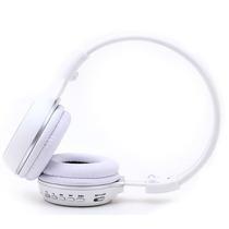 Fone Headfone Com Entrada P\ Cartão Sd Com Radio Cor Branco