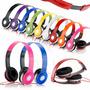 10 Fone Ouvido Headphone Fone M Kit Atacado Frete Grátis