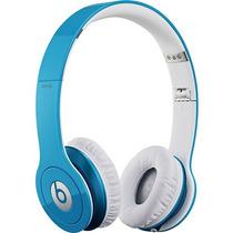 Fone Beats Dr Dre Solo Hd Azul Novo Na Caixa P Iphone Ipod