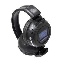 Fone De Ouvido Headphone Sem Fio Lcd Sd Card Mp3 Usb Radio