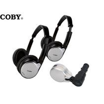 Kit Veicular Transmissor Portátil Fm+ 2 Fone Headphone Coby