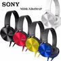 Fone De Ouvido Sony Mdr-xb450ap Importado Com Microfone