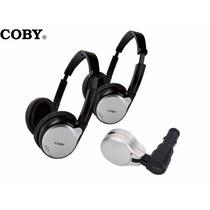 Kit Veicular Coby / Transmissor Portátil Via Fm / Com 2 Fone