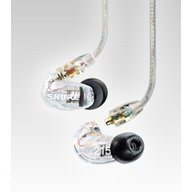 Fone De Ouvido Shure Se215 Cl In-ear Clear Original + Case