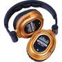 Fone Hdj Dj-tech Edj-500 Headphones (gold) Dj Frete Grátis!