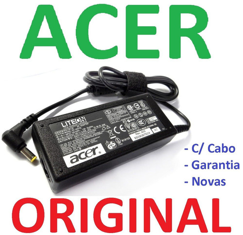 Fonte Carregador Notebook Acer Aspire Travelmate 19v 3.42a