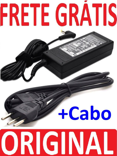 Fonte Carregador Original Positivo Cce Itautec Frete Grátis