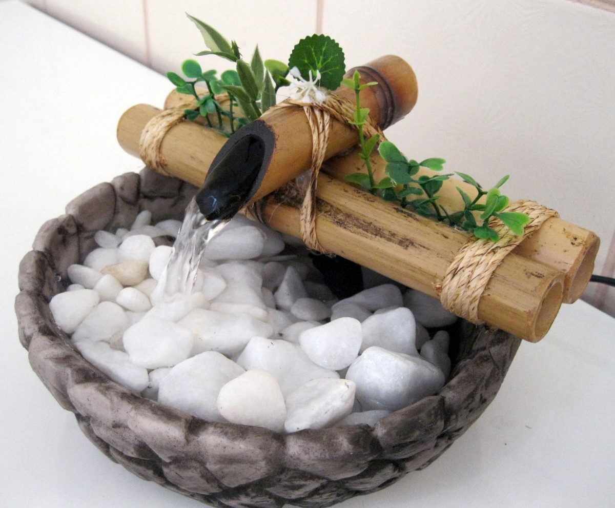 Imagens de #436A34 pedras para jardim novo hamburgo: /bambu Mini Base Resina Imitando  1200x991 px 2764 Box Banheiro Novo Hamburgo Rs