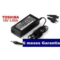 Fonte Toshiba Original 19v 3.95a 75w Pa-1750-04 Nova!