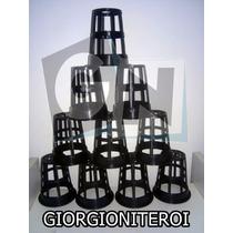 50und Net Pot 75 Aquario Hidroponia Cano Pvc Copo Rede Pote
