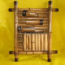 Fonte De Água De Parede 50x60 Bambu - Pague Em 12x