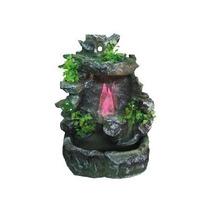 Fonte Meditação Água Yoga Cascata Led.relaxant Cristal Pedra