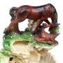 Fonte De Água Feng Shui Cavalo - Frete Barato