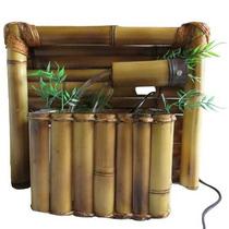 Fonte De Água Bambu De Parede-pague Com Cartão