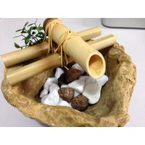 Fonte Decorativa Feng Shui - Relaxamento(somente Cor Marrom)