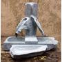 Fonte De Água Artística 2 Ramos - Chafariz Em Pedra Sabão