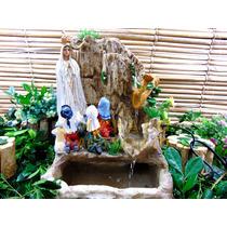 Nossa Senhora De Fátima Fonte Água Religiosa 3 Pastorinhos