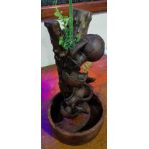 6 Fontes Artesanal 1 Madeira, Cerâmica - 4 Caídas - Atacado
