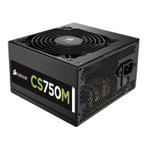 Fonte Corsair Cs750m Modular De 750 Watts Reais 80 Plus Gold